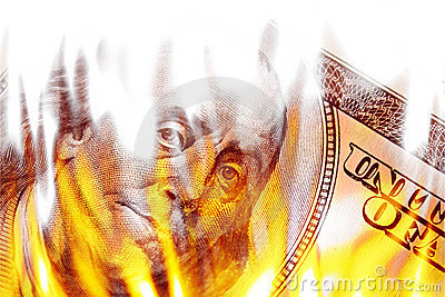 argent-en-feu-en-flammes-thumb13299264